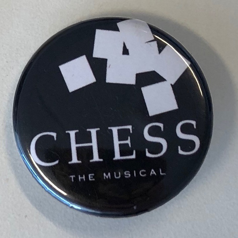 Chess Badge, black